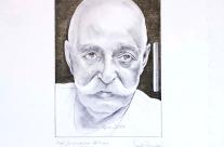 Georges Ivanovič Gurdjieff cm35x50